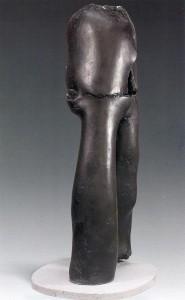Claude Abeille, plâtre patiné (1974)