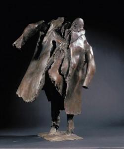 Claude Abeille, bronze (1996) - 84 x 49 x 90 cm