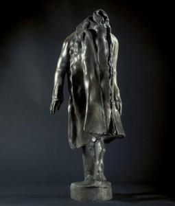 Claude Abeille, bronze (1997) - 104 x 37 x 33 cm